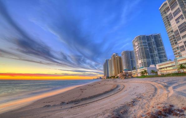 Photo Wallpaper Vice City Florida Miami Home FL Beach Skyscrapers