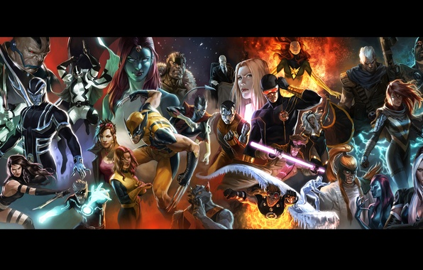 Picture character, magic, X-Men, marvel, comic, powers