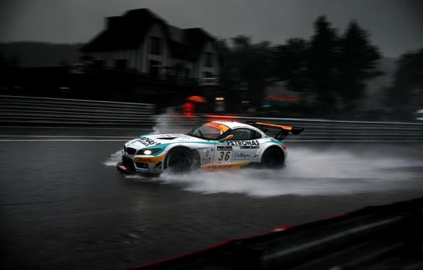 Picture BMW, GT3, Rain
