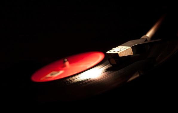 Picture macro, retro, music, music, blur, sound, player, vinyl, record, tool, record, music, bokeh, vinyl, musical, ...