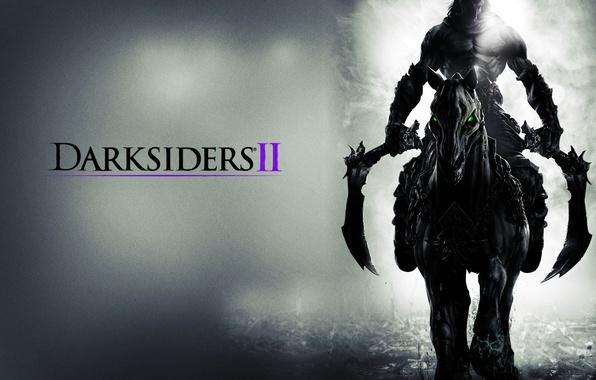 Picture death, horse, the game, braid, rider, DarkSiders 2