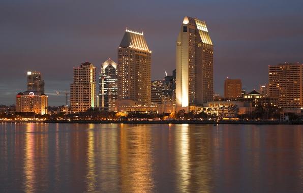Picture city, the city, CA, USA, USA, California, San Diego, San Diego