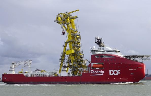 Picture sea, The ship, Norway, SKANDI ACU