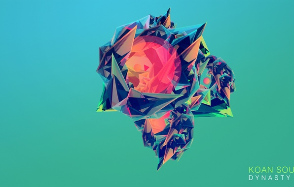 Picture abstraction, background, Justin Maller, OWSLA, KOAN SOUND, ElectronicGlitch