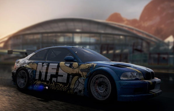 Picture BMW, GTR, NFS, Need For Speed, Most Wanted
