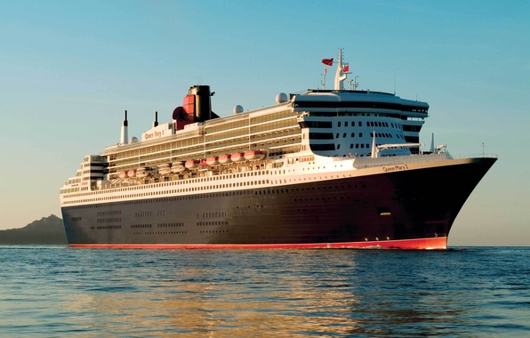 Picture water, ship, steamer, the ship, Queen Mary