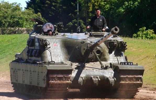 Picture tank, British, assault, Tortoise, (self-propelled artillery), superheavy, (A39)