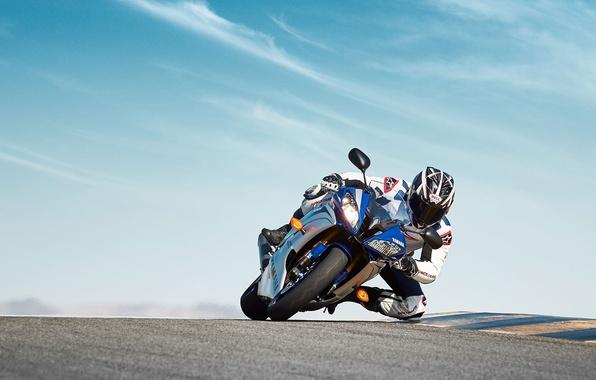 Picture Yamaha, bike, motorbike, 2015, YZF R6