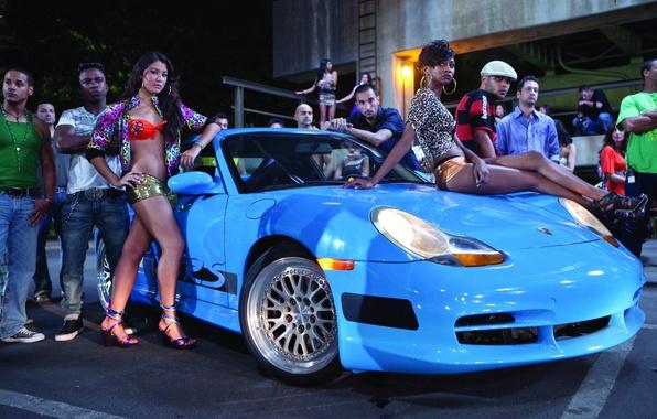 Wallpaper auto, , situation, girls, Porsche, legs, sitting ...