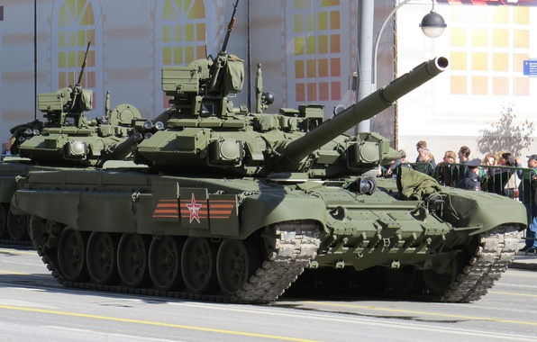 Picture tank, armor, T-90