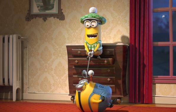 Picture movies, minions, minion, cartoon Despicable me 2