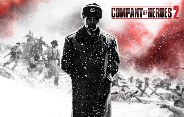 Picture soldiers, The Second World War, Company of Heroes 2, overcoat