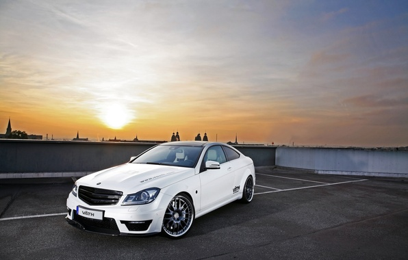 Picture City, Mercedes Benz, cars, auto, Photo, wallpapers auto, Parking, Photography, Amg, with 63, C 63 …