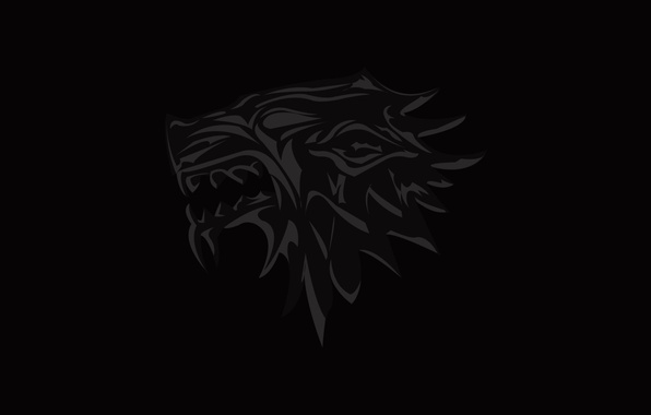 Wallpaper Wolf Coat Of Arms Game Of Thrones Stark House