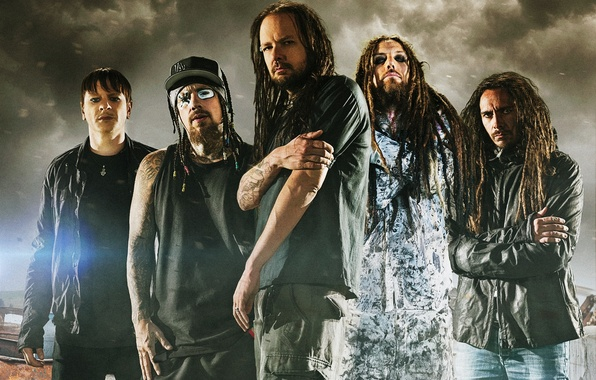 Picture music, music, Grain, Korn, nu metal, nu metal, Jonathan Davis, Ray Luzie, Done, Monkey, Head