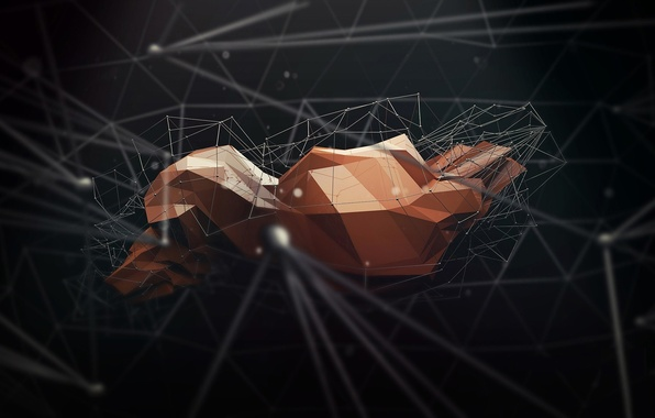 Picture background, abstraction, geometry