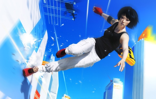Picture The game, Mirrors, Parkour, Edge