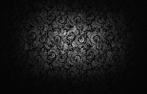 Picture patterns, texture, black and white, ornament