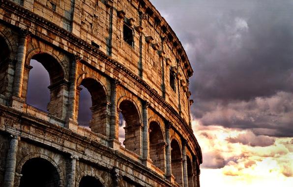 Picture Rome, Colosseum, Italy, Colosseum