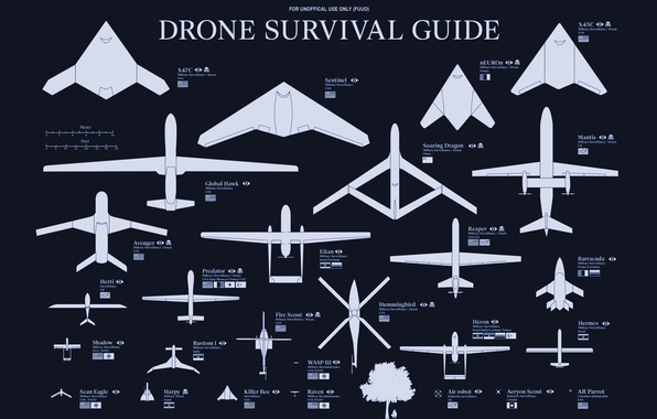 Picture weapons, country, drones, types, classification, drones