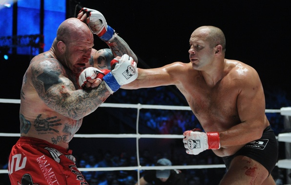 Picture blood, battle, Boxing, blow, Man, fighter, fighters, fight, Fedor Emelianenko, fights without rules, mma, Fedor …