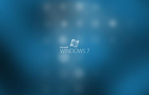 Picture blue, computers, seven, windows, microsoft, computers