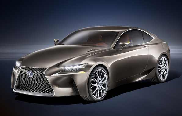 Picture Concept, background, coupe, Lexus, The concept, Lexus, the front, LF-CC