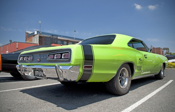 Picture machine, Dodge, 1970, Coronet, Muscle Car