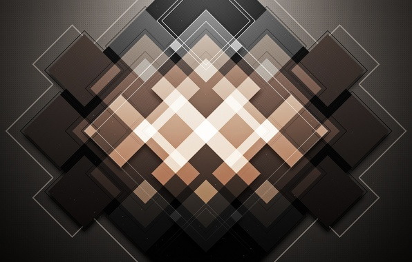 Picture Abstraction, rhombus, WMill, Ideekay