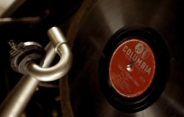 Picture music, vinyl, gramophone