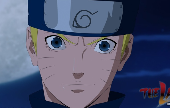 Picture moon, game, Naruto, sky, smile, anime, blue eyes, face, blonde, ninja, asian, film, manga, shinobi, …