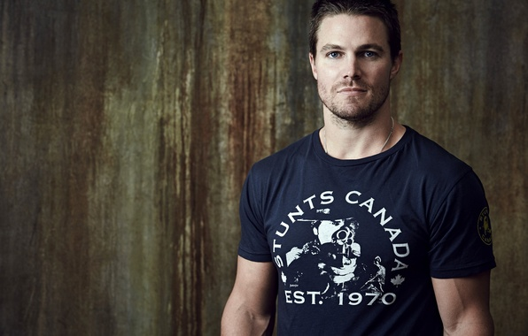 Picture t-shirt, actor, male, Arrow, Oliver Queen, Arrow, Stephen Amell, Oliver Queen, Stephen Amell