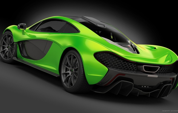 Picture Concept, McLaren, Green, Supercar