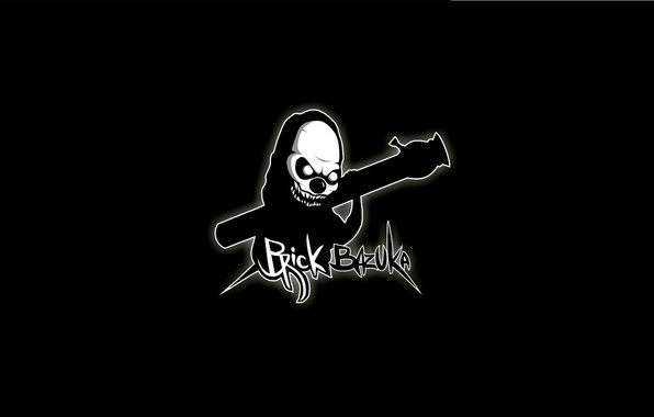 Picture Minimalism, Music, Logo, Music, Black, Hip-Hop, Brick Bazuka, the Chemodan Clan