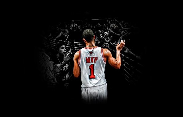 Picture basketball, 2011, nba, MVP, most valuable player, chicago, next generation, bulls, Derrick Rose