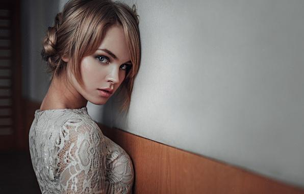 Picture Girl, Look, Wall, Lips, Face, Hair, Portrait, Anastasia Shcheglova