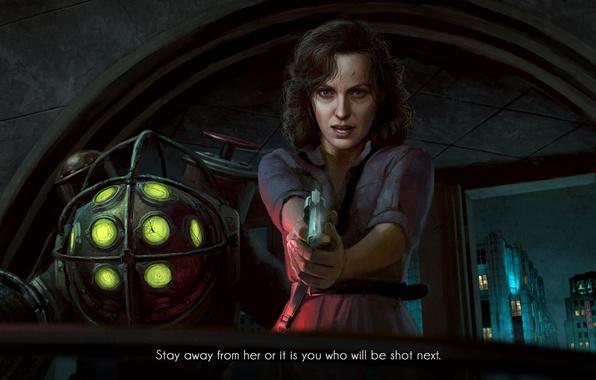 Photo wallpaper BioShock, Art, 2K Games, Astoralexander