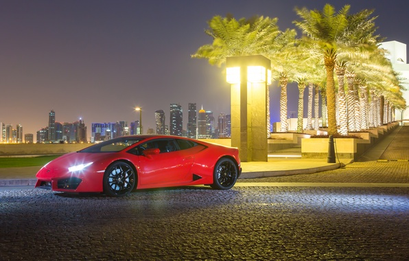 Photo wallpaper Lamborghini, Lamborghini, Huracan, hurakan, LP 580-2