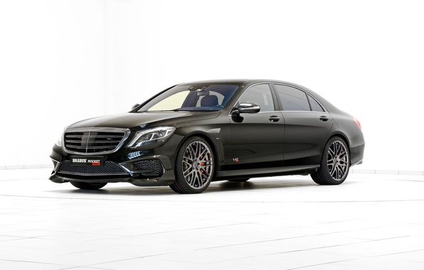 Picture Mercedes-Benz, Brabus, Mercedes, BRABUS, S-Class, W222, 2015, Rocket 900