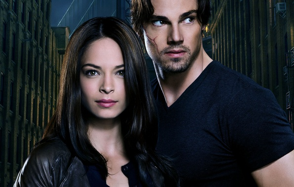 Picture girl, actress, the series, guy, actor, Beauty and the Beast, Beauty and the Beast, Kristin …
