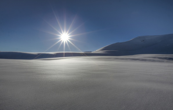 Picture winter, the sun, rays, snow, nature, background, widescreen, Wallpaper, wallpaper, nature, widescreen, winter, background, snow, …