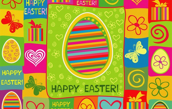 Picture color, holiday, bright, Easter, texture, Easter