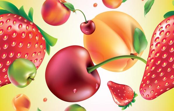 Picture berries, texture, fruit, texture, fruits, berries