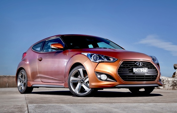 Picture machine, car, Hyundai, Hyundai, Turbo, Veloster, Veloster HD
