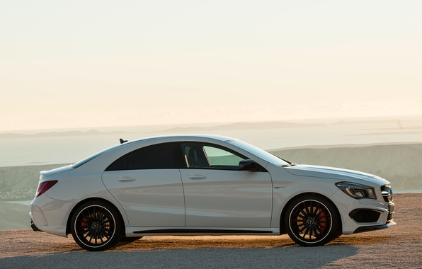 Picture auto, Wallpaper, Mercedes-Benz, side view, AMG, CLA