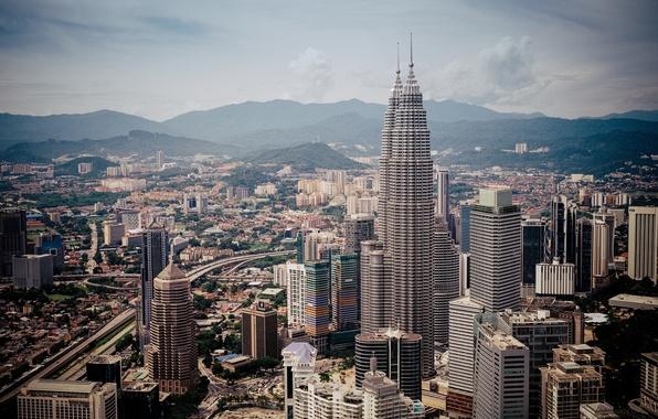 Picture building, panorama, Malaysia, Kuala Lumpur, Malaysia, Kuala Lumpur