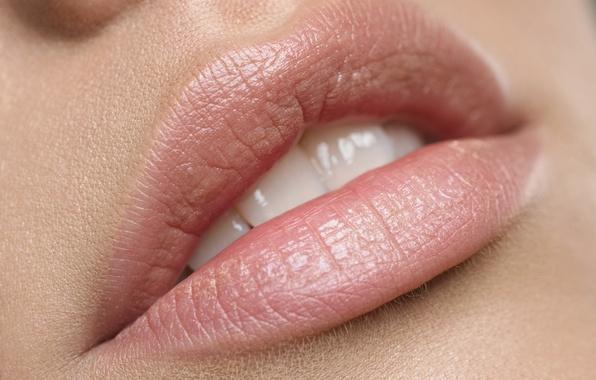 Picture woman, lips, skin, teeth