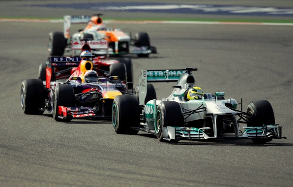 Picture Race, Red Bull, Force India, Nico, Mercedes AMG
