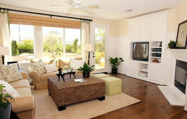 Picture design, room, sofa, interior, living room