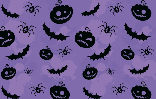 Picture Pumpkin, texture, pattern, creepy, creepy, Halloween pumpkins, bats and spiders, bats and spiders, Textures